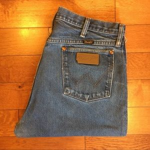 Vintage Wrangler High Waist Rise Wedgie Fit Jean
